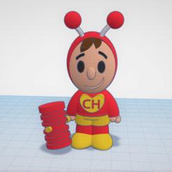 Télécharger fichier impression 3D gratuit Mini sauterelle du Colorado, CJLeon