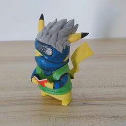 Télécharger modèle 3D gratuit Pikachu X Kakashi (Pokemon/Naruto), CJLeon