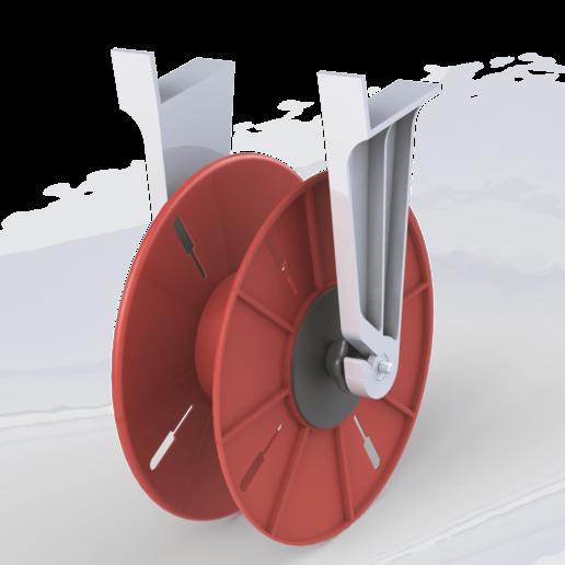 Download free STL file Porta Rollo • 3D print template, CMS
