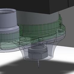 Download STL file Adaptador Aspiradora de alta visibilidad para Spindle HUANYANG DGZ-80-2.2b • 3D printing model, CMS