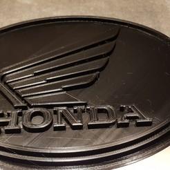 Download free STL files Honda logo, clem103