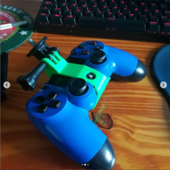 jkhgbigh.PNG Download STL file Support for celu (ps4 joystick) • 3D print design, aguantedaeljr