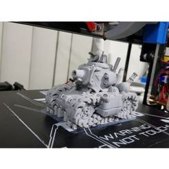 Download free STL file SV-001 Metal Slug Tank • 3D printable model, nauseumster