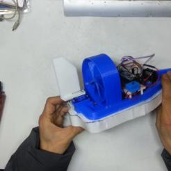 Télécharger fichier STL gratuit Fabrication de bateaux à moteur à hélice, speedkornet