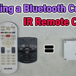 eng-리모콘복사기.jpg Download free STL file  Making a Bluetooth Control IR Remote Copier • 3D printing template, speedkornet