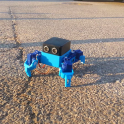 20191109_161900.mp4_000211138.png Download free STL file Create Smartphone Control Quadruped Spider Robot(OTTO QUAD) • 3D print model, speedkornet