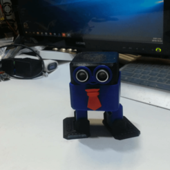 Download free 3D printer designs HOW TO MAKE  OTTOBOT ,Open source DANCEBOT, speedkornet