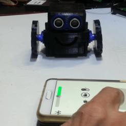 Descargar Modelos 3D para imprimir gratis Cómo hacer un pequeño robot controlado por un smartphone, speedkornet
