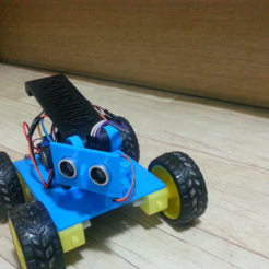 Download free STL file Create a robot car to avoid obstacles, speedkornet