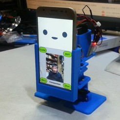 Download free STL Create an artificial intelligence smartphone robot(MobBob), speedkornet