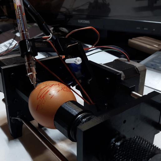 20191020_144444.mp4_000018546.png Télécharger fichier STL gratuit Créez un ovoproduit qui puise dans les œufs. • Modèle pour imprimante 3D, speedkornet