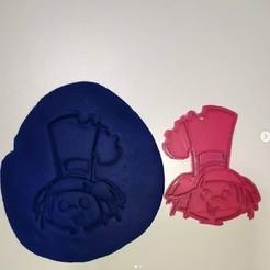 Download 3D printer designs cutting dough or hijitus cookies, AICRAG3D