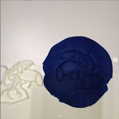 Impresiones 3D Largirucho cortante masa o galletitas, AICRAG3D