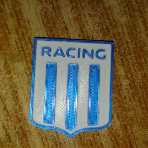Archivos 3D Racing Club iman o llavero, cristian_ariel_garcia