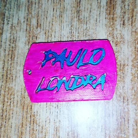 STL paulo londra key ring, cristian_ariel_garcia