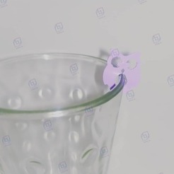 bhuo.jpg Download STL file Beverage markers • 3D print template, AICRAG3D