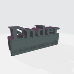 ender.png Download free STL file FOR ENDER  (ACCESSORIES FOR ALUMINIUM TOP ENDER  ECT ) • 3D printing design, einnosetrof