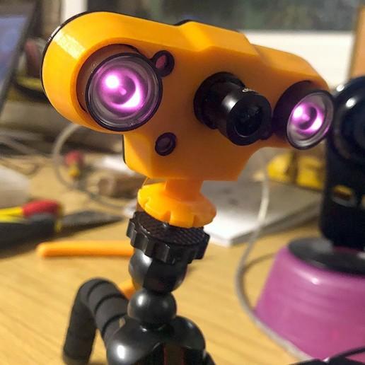 AutoIRCamCover.jpg Télécharger fichier STL gratuit Caméra Pi Framboise AUTO IR-CUT en façade • Objet pour impression 3D, tbr