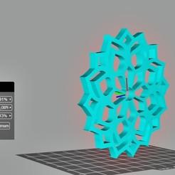 posavasos.jpg Download free STL file mandala coaster... or pendant • 3D printer object, Cuque