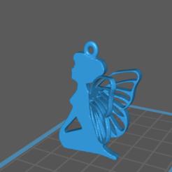 Descargar archivos 3D gratis Fairy Pendant, Cuque