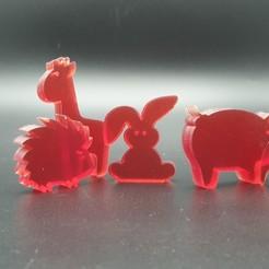 20200924_121124.jpg Download STL file stackable rabit Toy • 3D printable design, Cuque