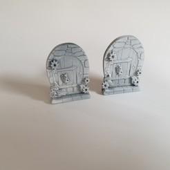 Download STL file Fairy door • 3D print object, Cuque