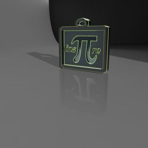 Download OBJ file Back to school key chain • 3D printer object, Cuque