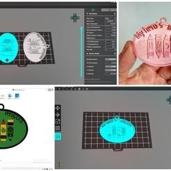 Télécharger fichier STL Porte-clés de la rentrée scolaire Mon héros • Plan à imprimer en 3D, Cuque