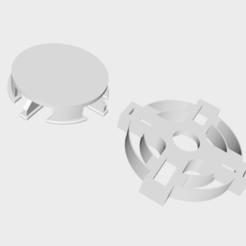 Modelos 3D para imprimir Celtic - Cortador de galletas + sistema de liberación, numeroventotto
