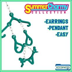SCY-04.jpg Download STL file SUMMERCHARMY BIKINI - Earrings - Pendant - Charm - Jewel • 3D printer design, ECCOFATTO