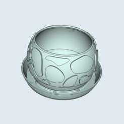 Télécharger fichier impression 3D Pot de forme ronde - pour les pots de culture, ECCOFATTO