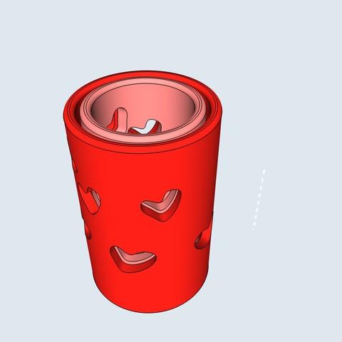 Descargar modelos 3D Portavelas flotante, numeroventotto