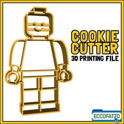 Download STL file LEGO - COOKIE CUTTER, ECCOFATTO