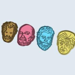 Archivos 3D Masterchef - Cortadores de galletas, numeroventotto