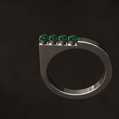 STL file #1-Ring, danu_t94