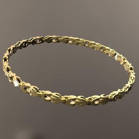 Descargar archivos 3D Pulsera de oro, danu_t94