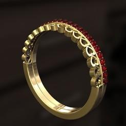 Descargar modelos 3D para imprimir Anillo multi-corazones con diamantes modelo de impresión 3D, danu_t94