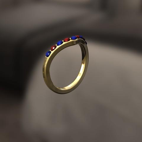 Download 3D printing files F Ring, danu_t94
