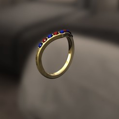 3D print files F Ring, danu_t94