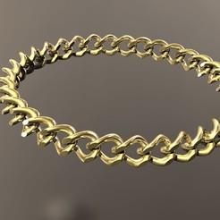 Download 3D printer templates Cuban bracelet, danu_t94