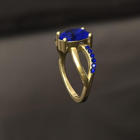 Download 3D printing templates D Ring, danu_t94