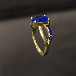 3D printer files D Ring, danu_t94
