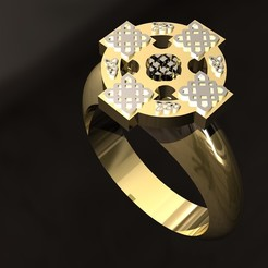 3D printer files Celtic Ring, danu_t94