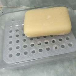 Télécharger fichier 3D gratuit Porte savon. Soap dish, stef32