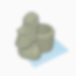 stone_henge_big_center.stl Descargar archivo STL molde de piedra henge de hormigón • Plan de la impresora 3D, haya_farm