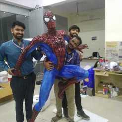 Archivos 3D gratis spiderman, STPL3D