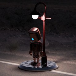 ImagenCults.jpg Download STL file Sad Robot - Where is my heart? • 3D printing design, Pasanus