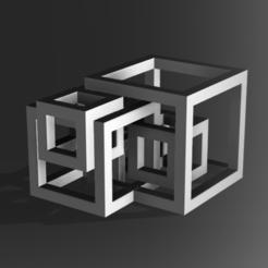 Descargar STL Cube Abstract, Pasanus