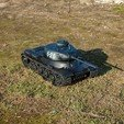 Download free 3D printer templates RC tank IS-1, Lubosh