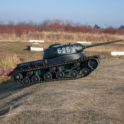 Download free 3D printer model RC tank IS-1 - build guide, Lubosh
